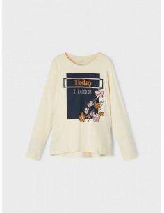 Camiseta VIOLET de corte holgado niña NAME IT