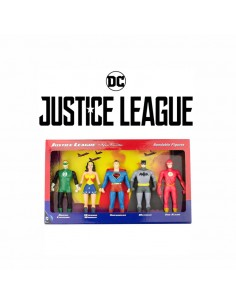 Pack Figuras Justice League Vintage - The New Frontier